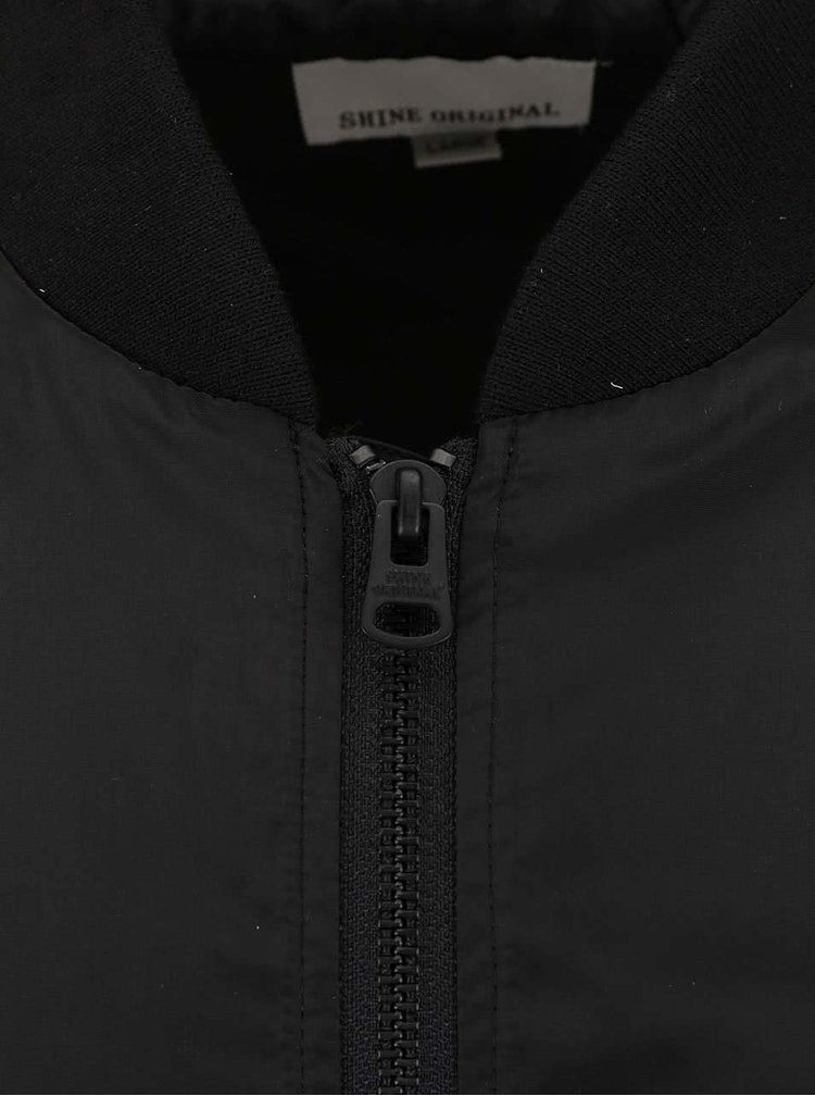 Čierna ľahšia bunda Shine Original Dexter