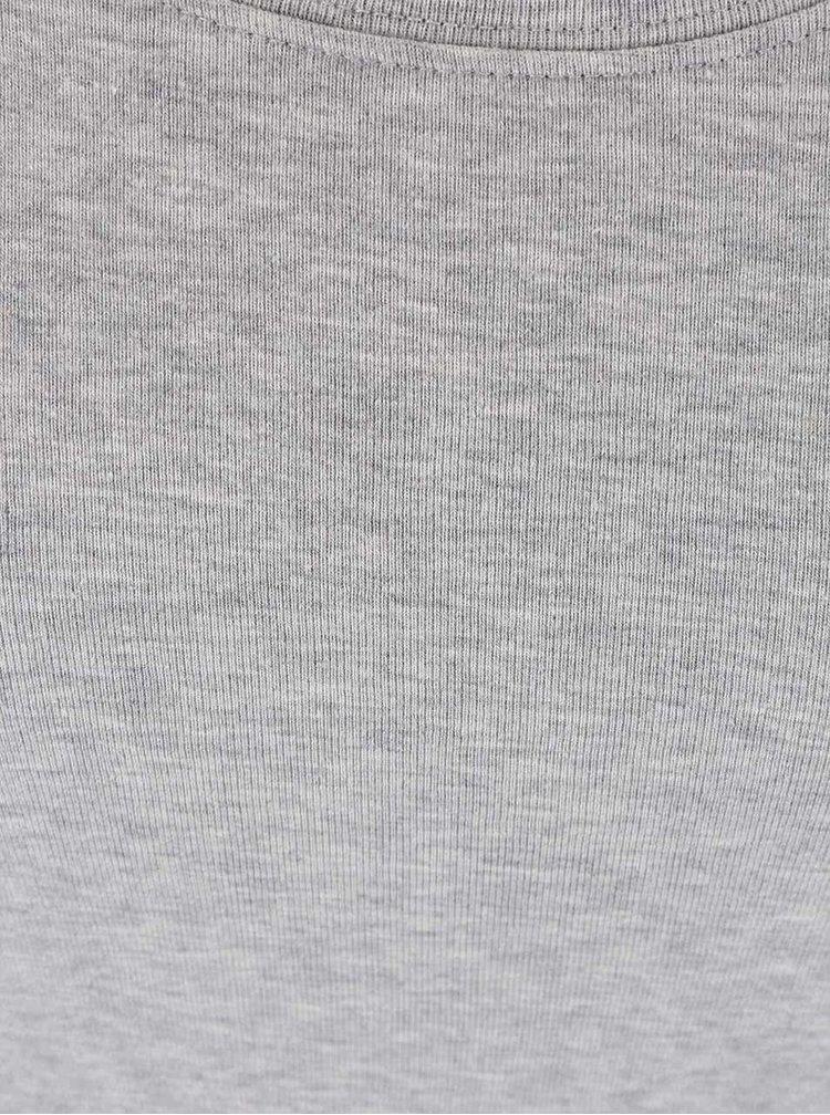 Šedé tričko Madonna