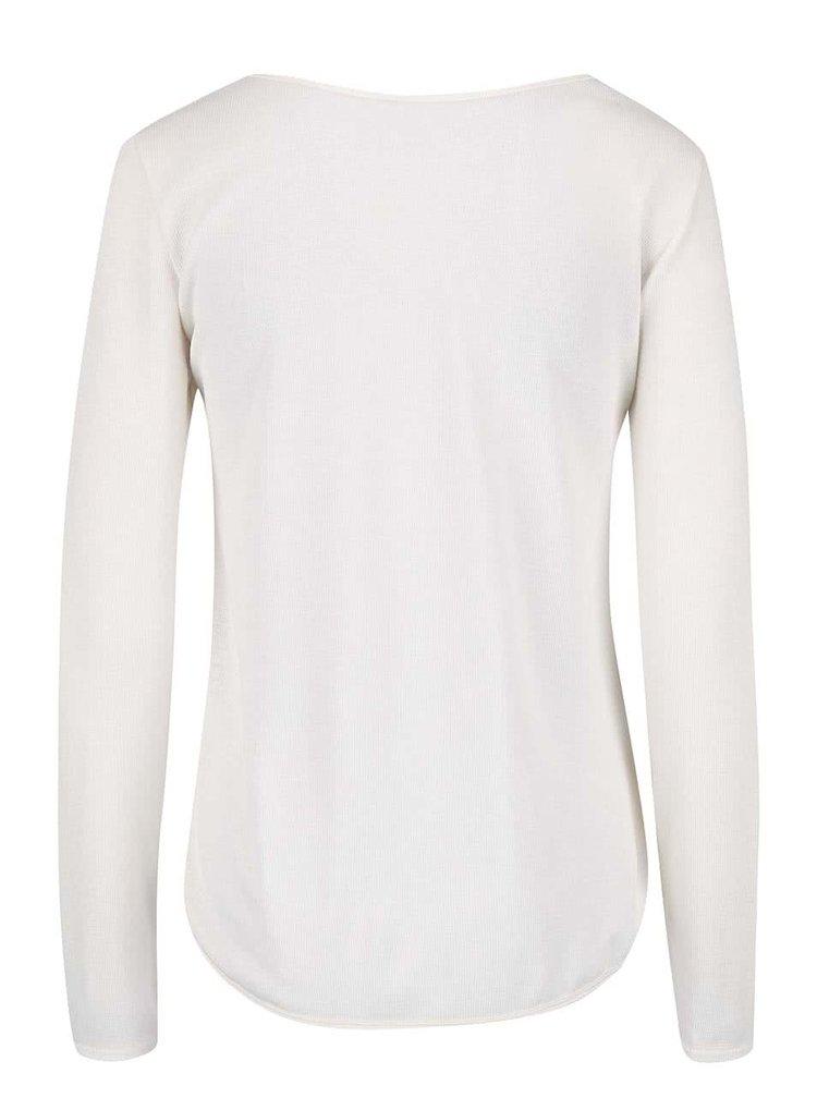 Krémové tričko s potiskem lapače snů Madonna
