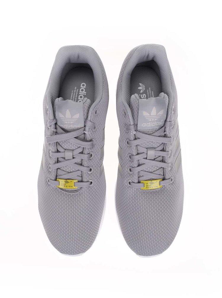 Šedé pánské tenisky adidas Originals ZX Flux