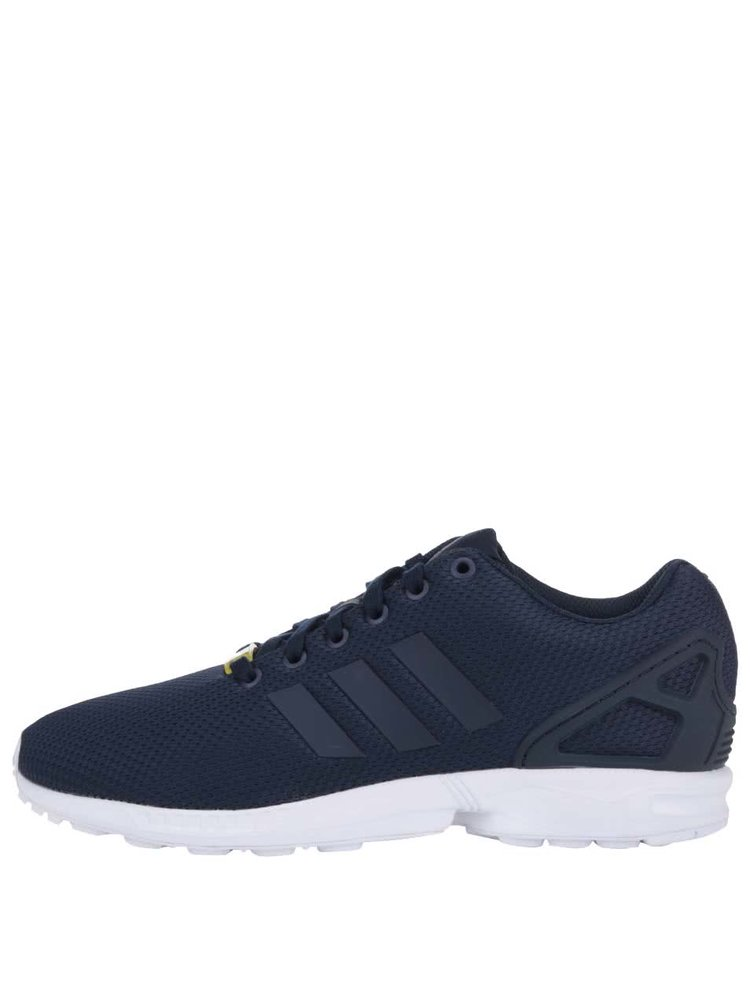 Tmavě modré pánské tenisky adidas Originals ZX Flux
