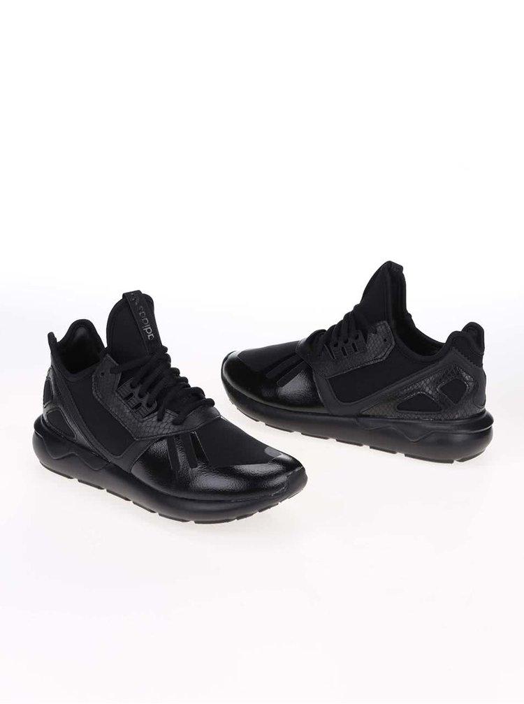 Čierne dámske tenisky adidas Originals Tubular Runner
