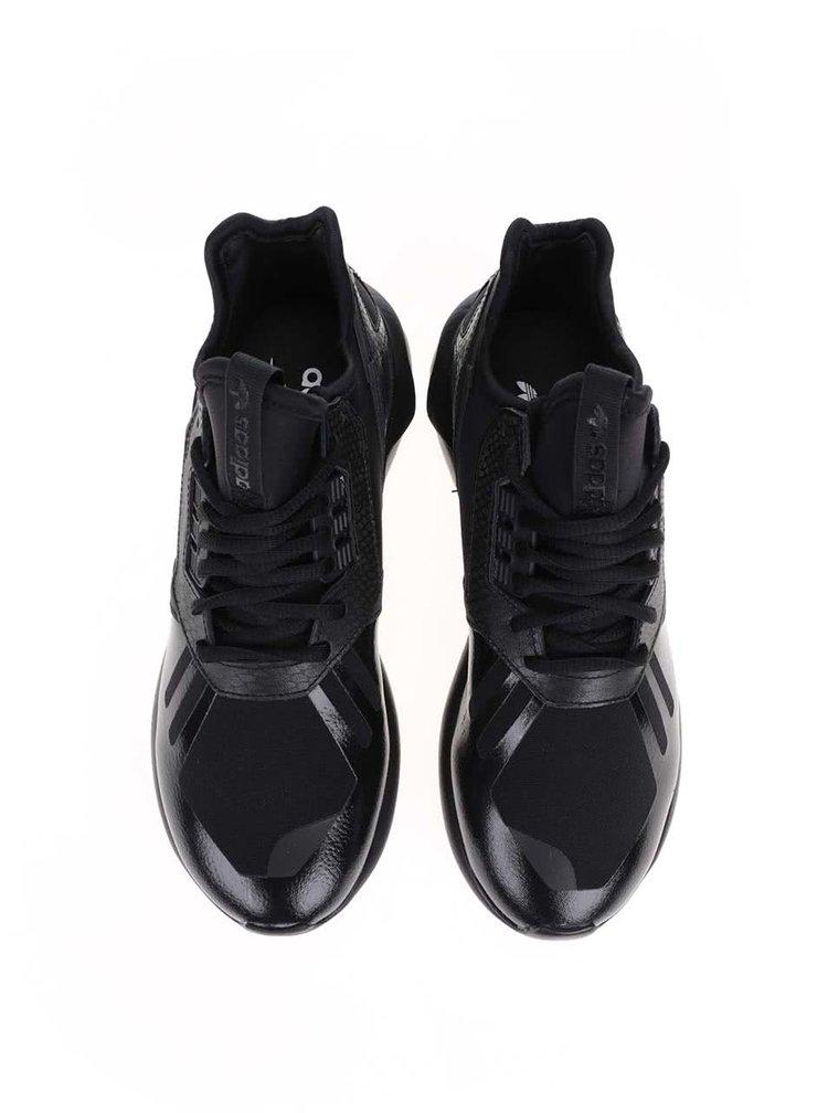 Černé dámské tenisky adidas Originals Tubular Runner W