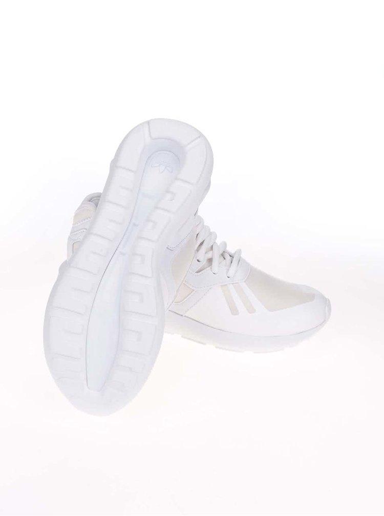 Béžovo-bílé dámské tenisky adidas Originals Tubular Runner