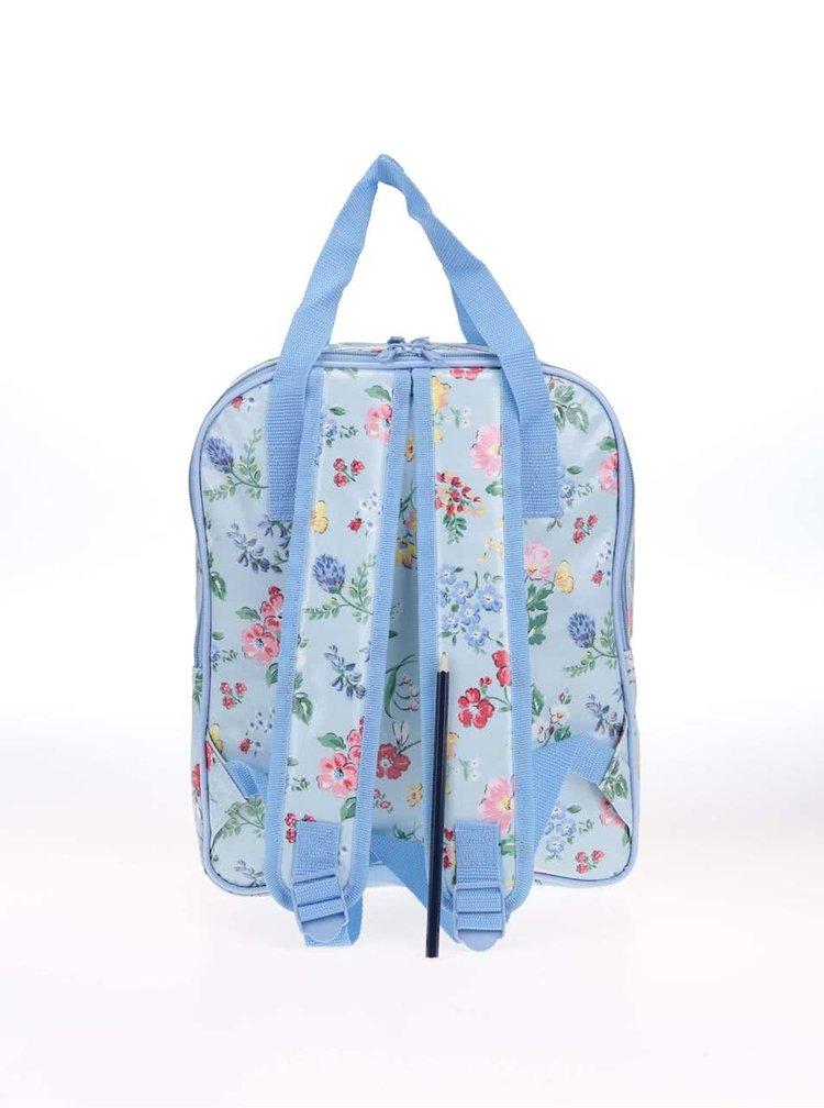Svetlomodrý vzorovaný batoh s jedálenským náčiním Cath Kidston