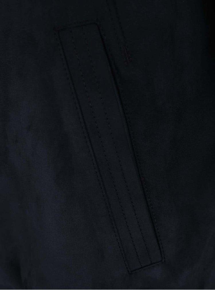 Tmavomodrá pánska bunda bugatti