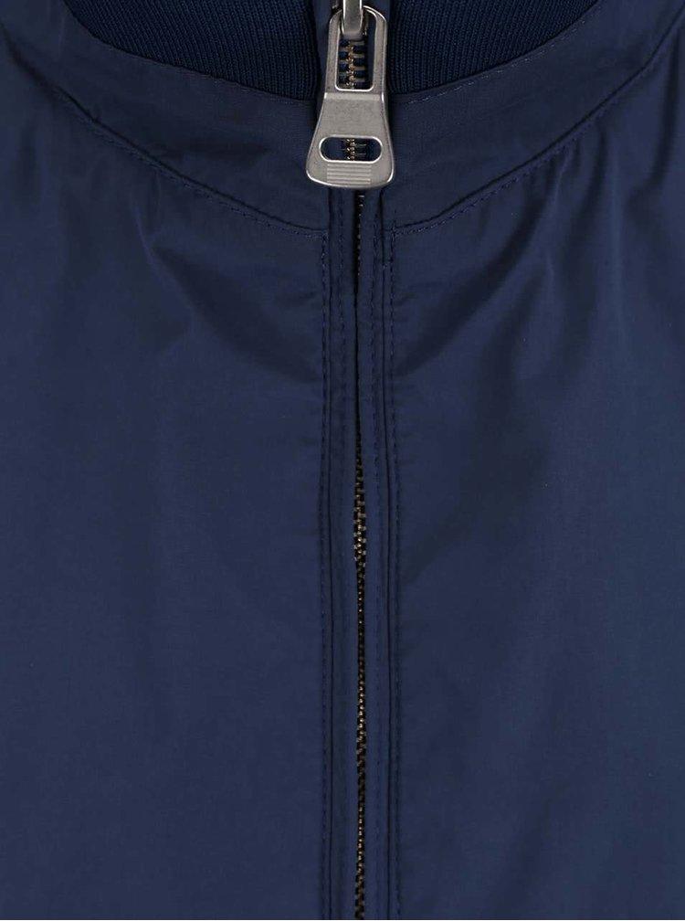Modrá pánska bunda bugatti