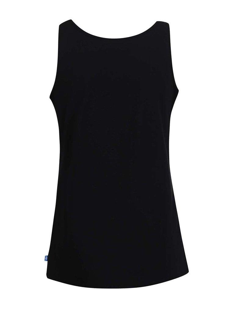 Černé dámské tílko s logem adidas Originals