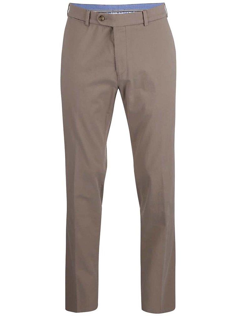 Béžové pánské kalhoty bugatti