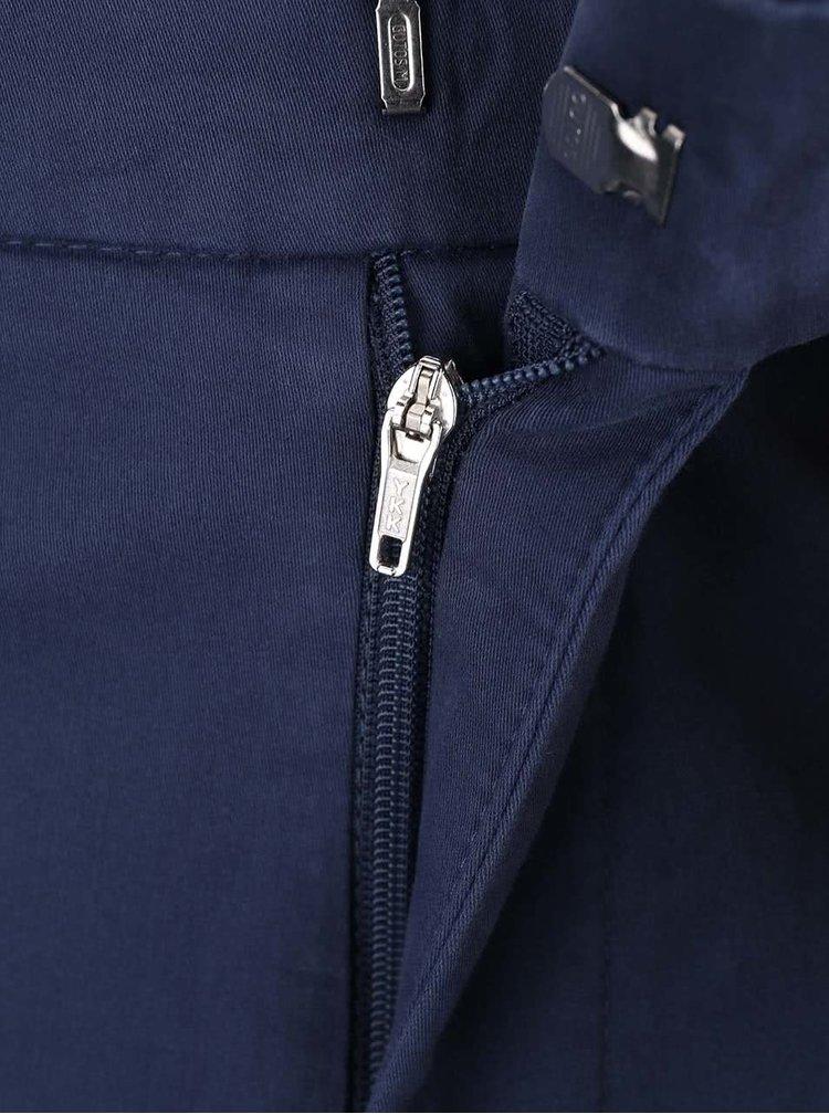 Modré pánske nohavice bugatti