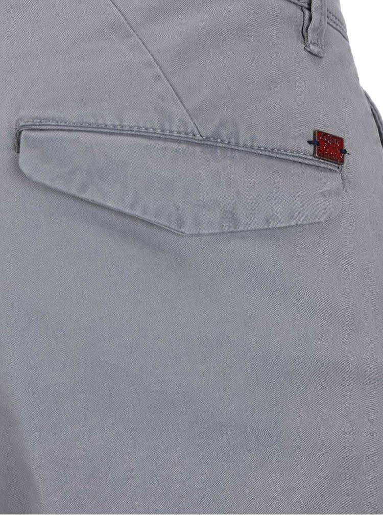 Svetlosivé pánske nohavice bugatti