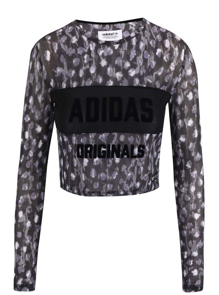 Bluză adidas Originals neagră
