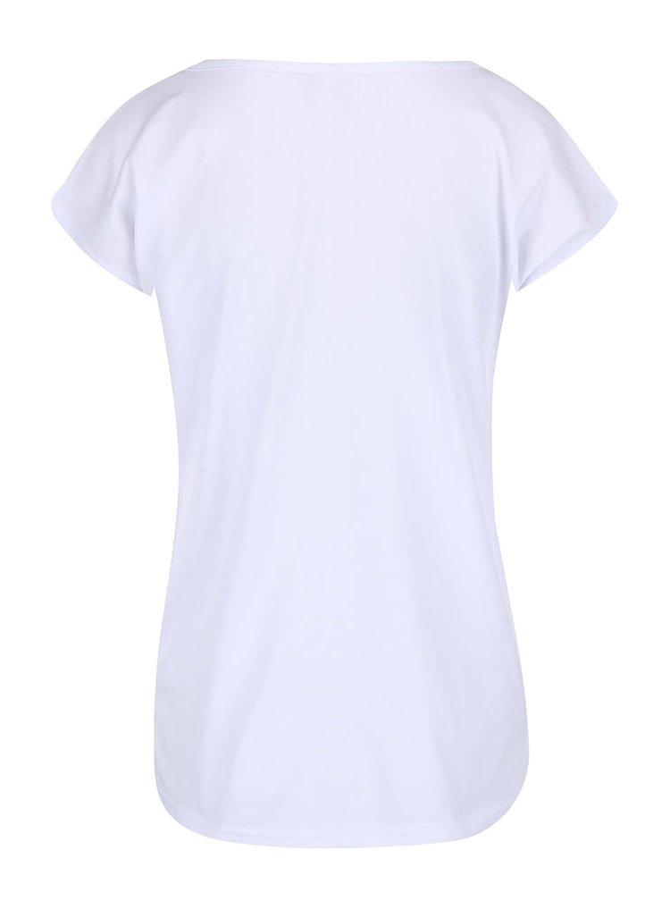 Tricou Horsefeathers alb cu imprimeu