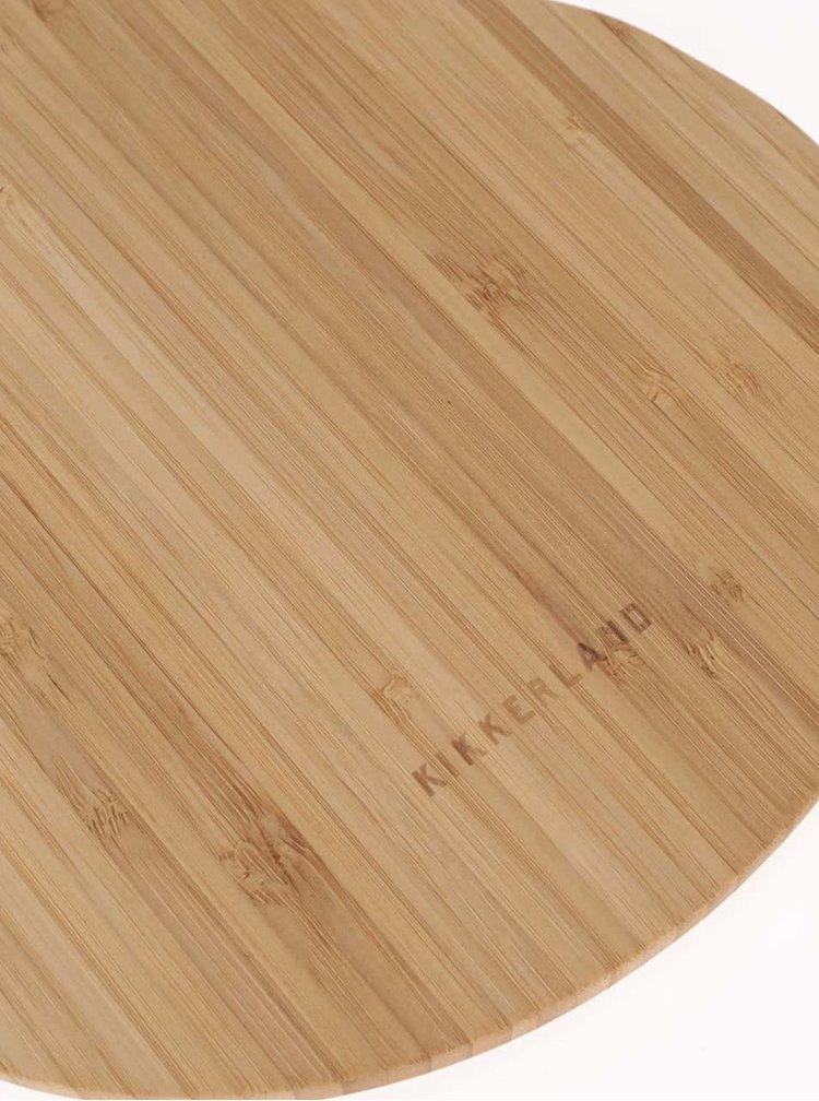 Dřevěné prkénko ve tvaru kytary Kikkerland