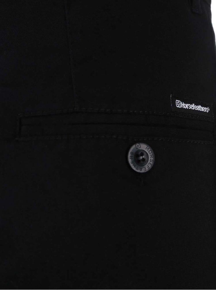 Čierne nohavice Horsefeathers Cookie