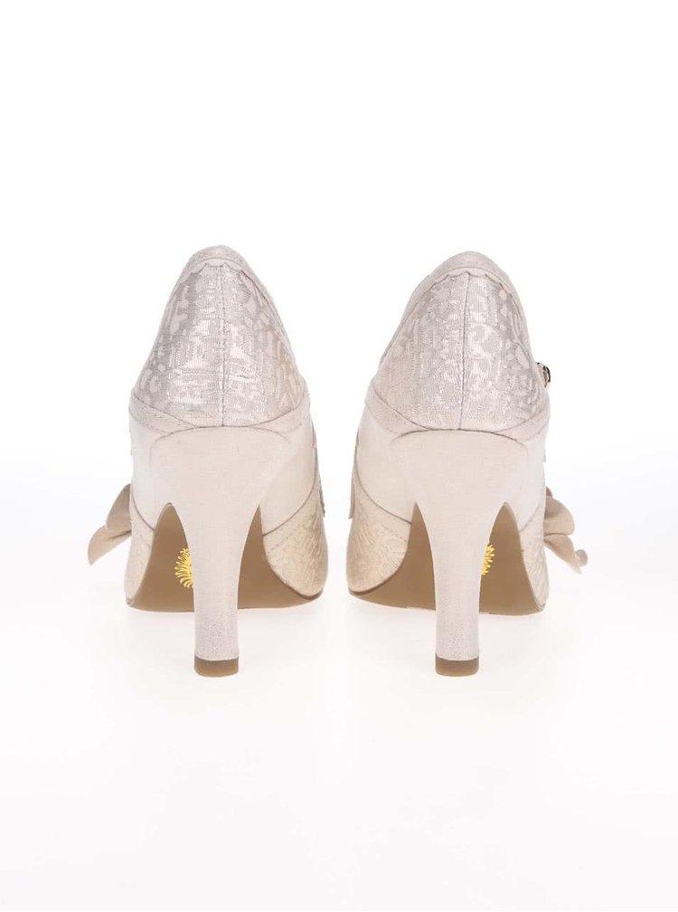 Pantofi de damă Ruby Shoo Cindy aurii