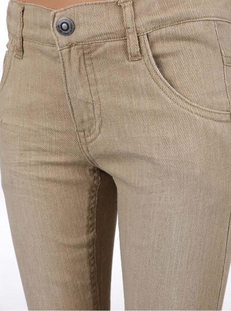 Béžové chlapčenské nohavice name it Ralf
