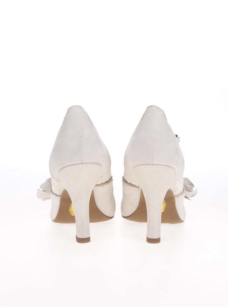Pantofi de dama Ruby Shoo Emily auriu/crem
