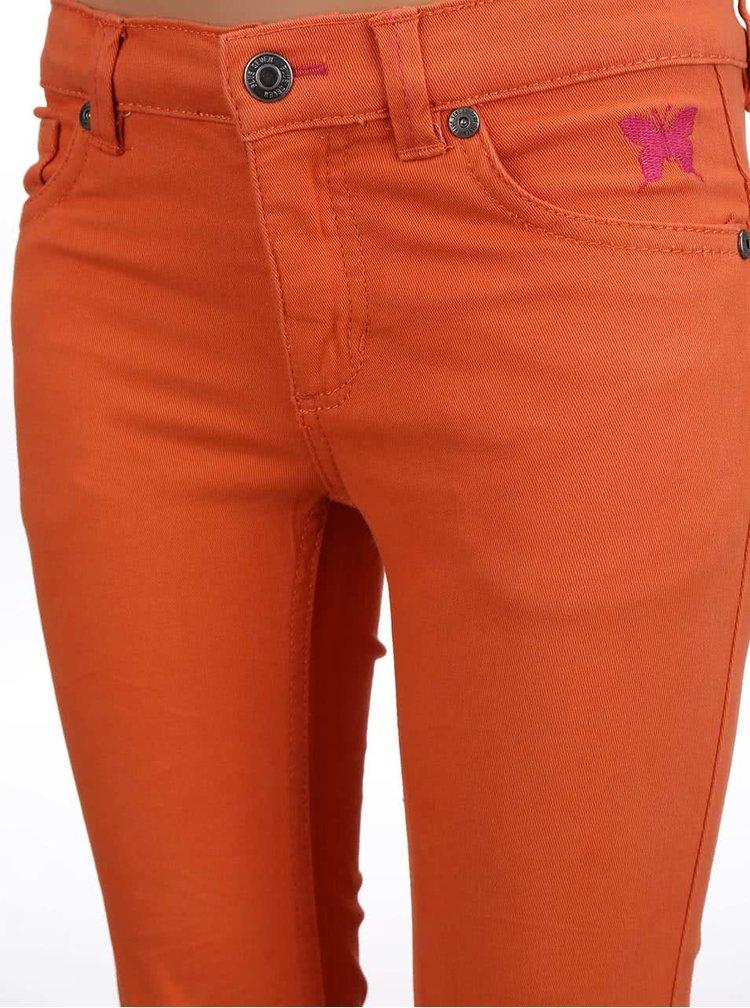 Oranžové holčičí džíny Blue Seven