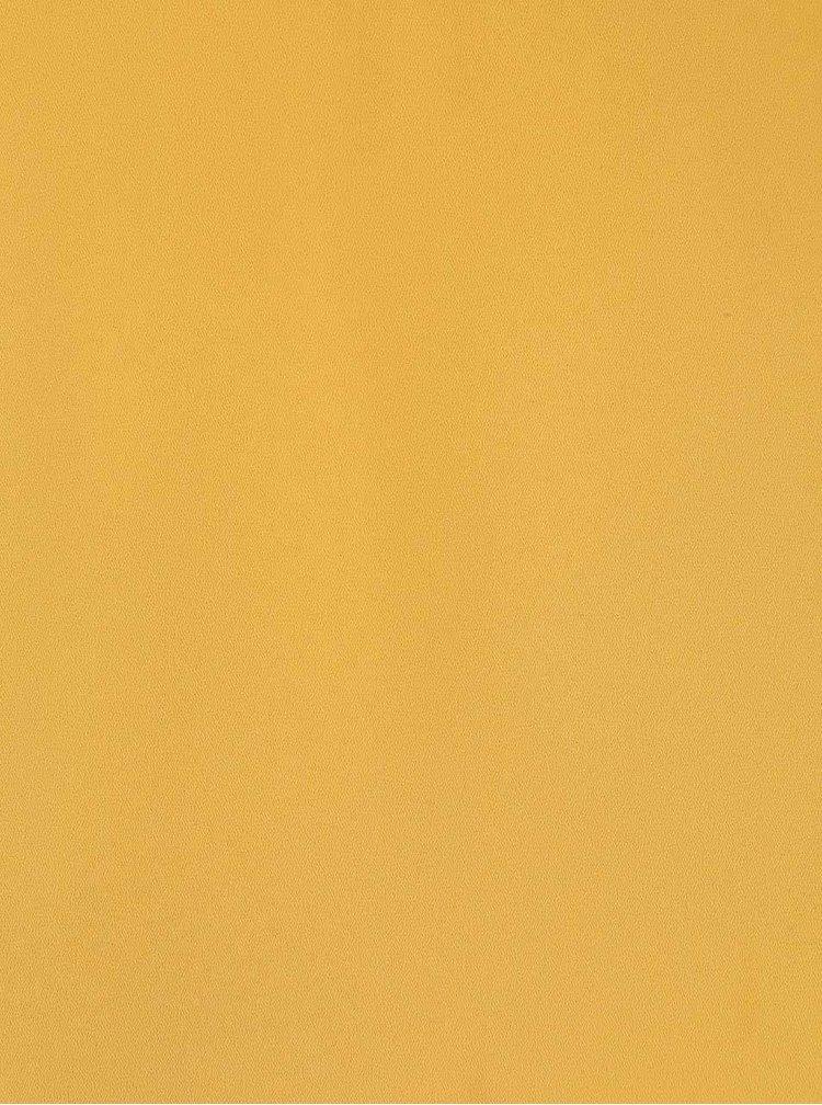 Žlutý top s prodlouženými zády Dorothy Perkins