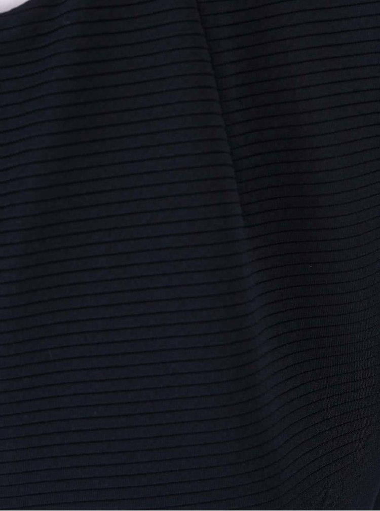 Tmavě modrá dlouhá vesta s rozparky Dorothy Perkins