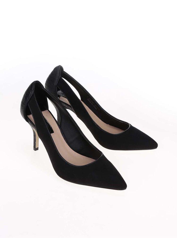 Pantofi Dorothy Perkins de culoare neagra