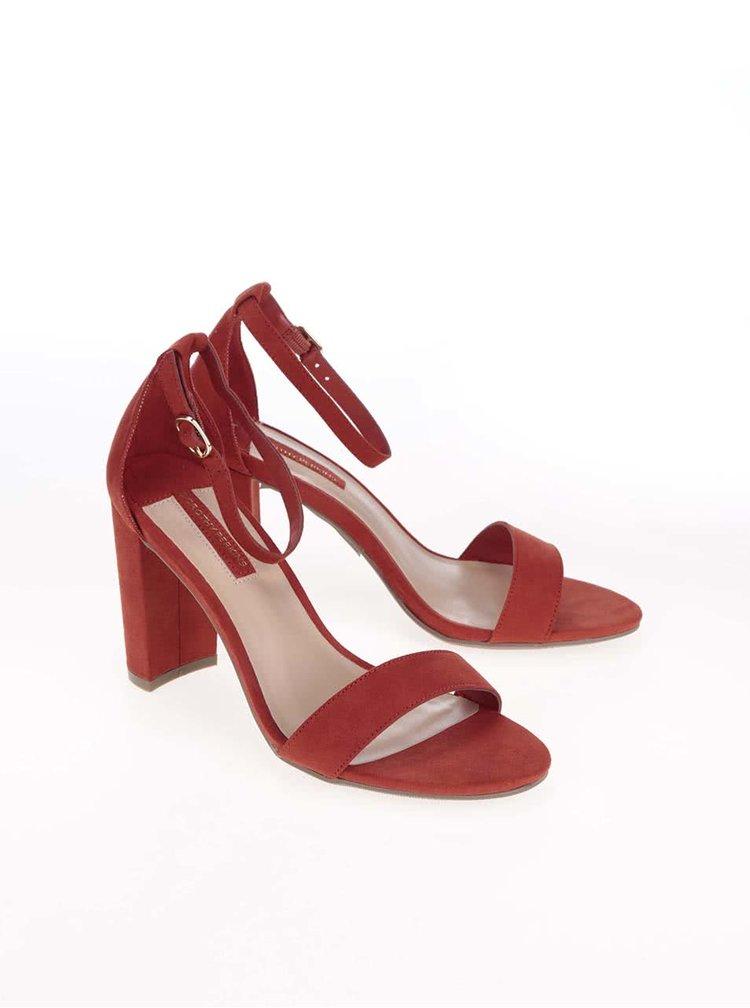 Sandale Dorothy Perkins roșii
