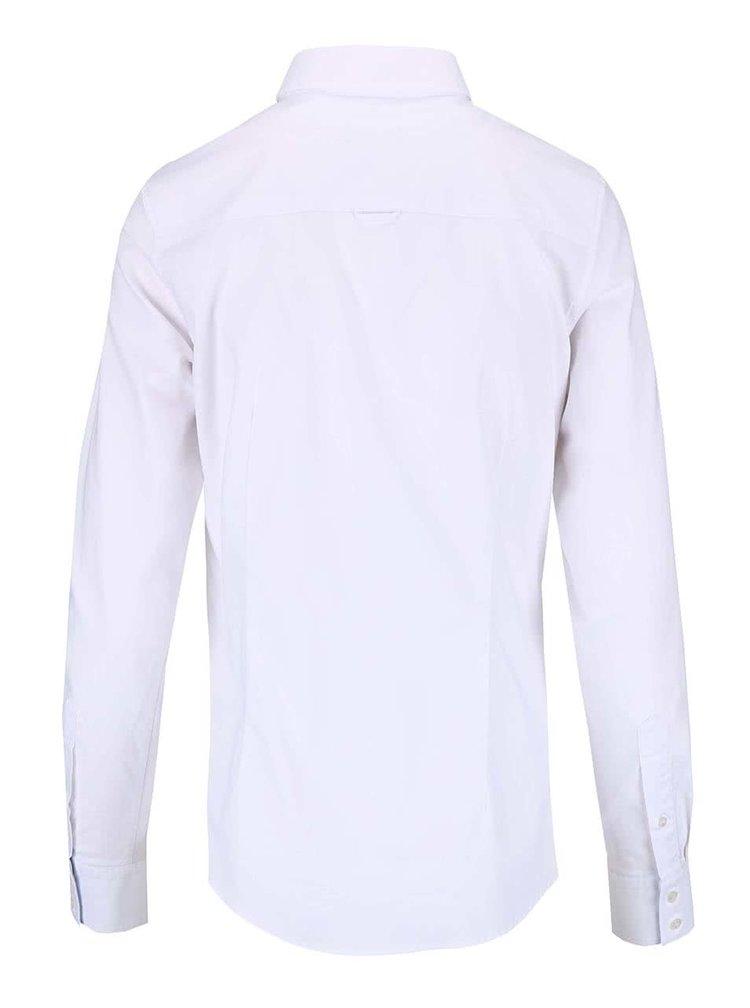 Bílá dámská košile s dlouhým rukávem GANT