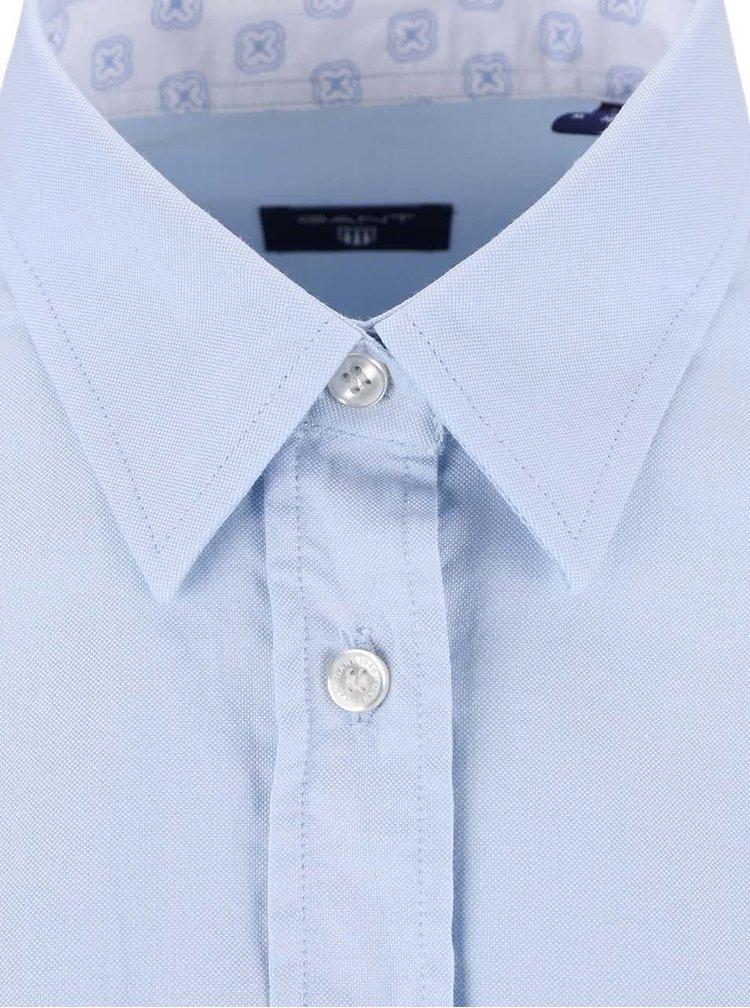 Modrá dámská košile s dlouhým rukávem GANT