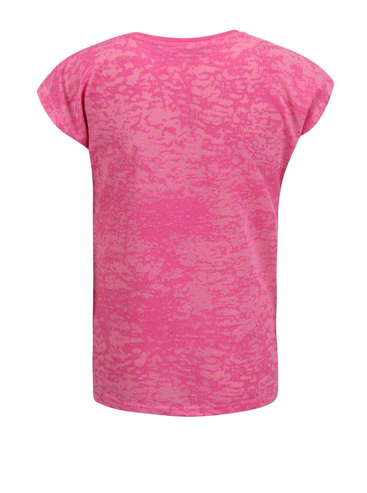 Růžové holčičí tričko s potiskem Blue Seven