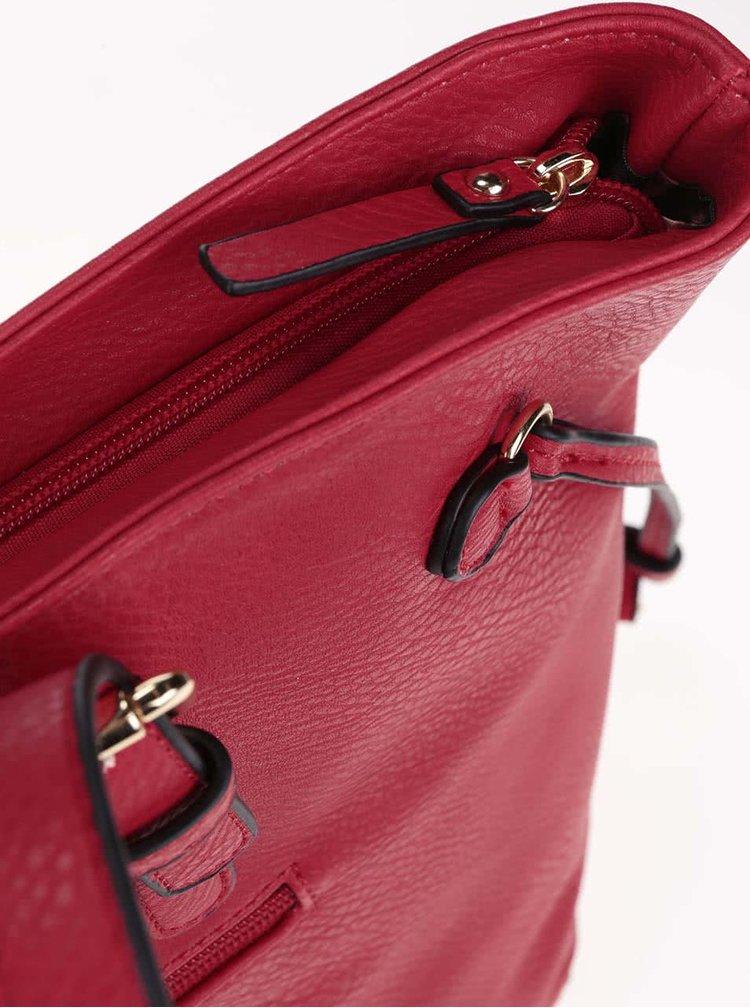 Geantă de mână Gionni Alina roșie