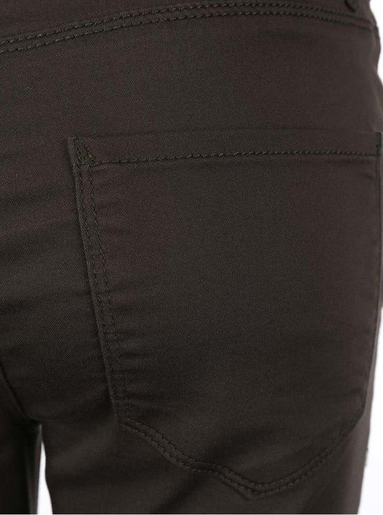Hnědé 3/4 kalhoty VERO MODA Flex