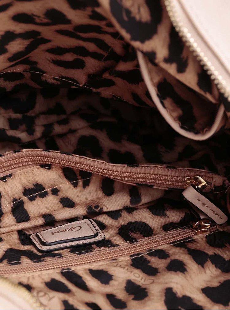 Svetloružová kabelka Gionni Anja