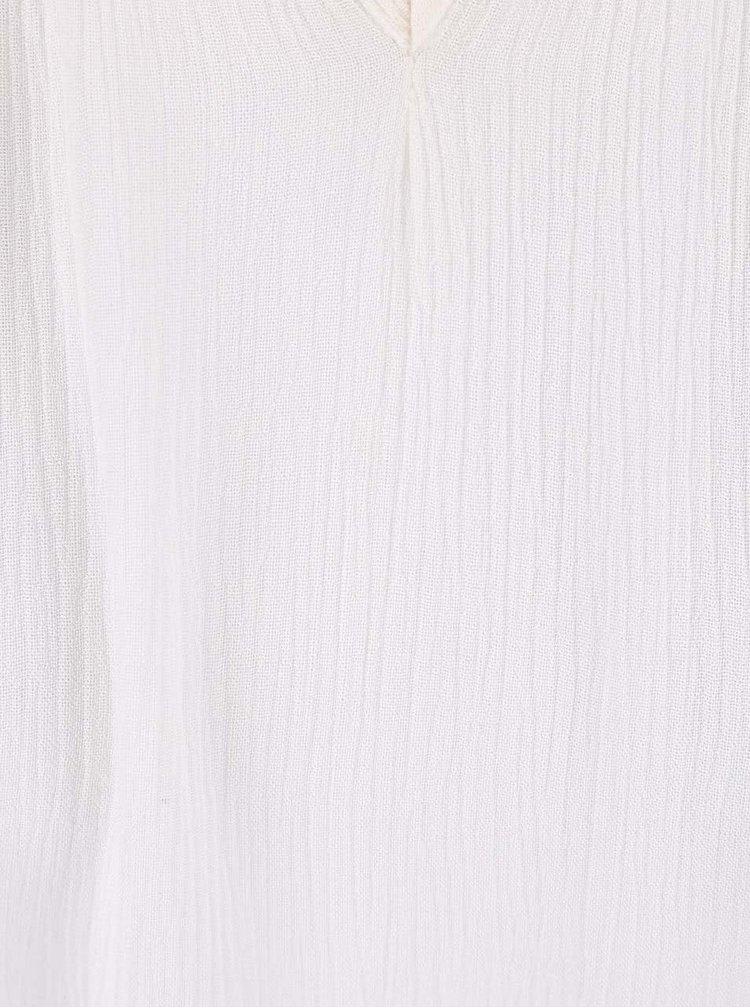 Krémová blúzka PEP Bente