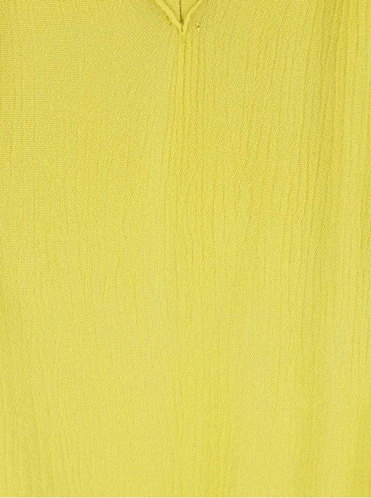 Žlutozelená halenka PEP Bente