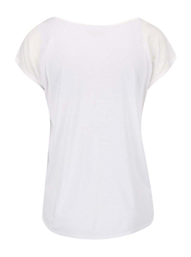 Krémové tričko s potiskem PEP Botille