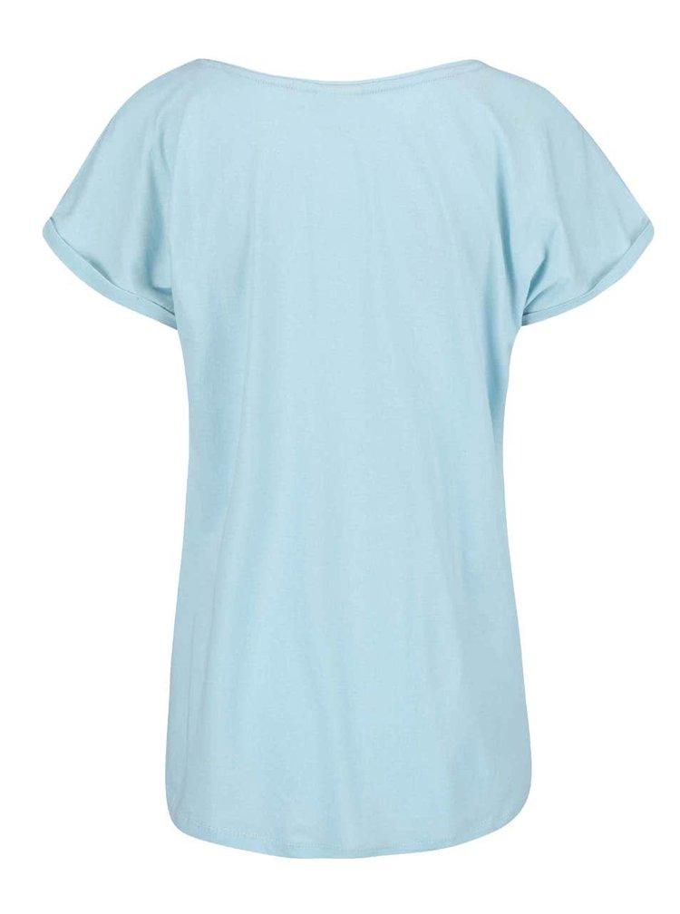 Modré tričko s motívom Eifellovky PEP Birta