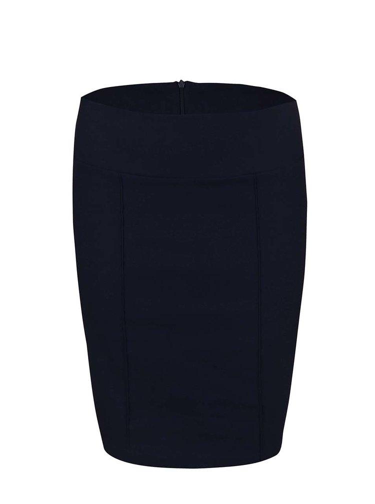 Tmavě modrá pouzdrová sukně PEP Casie 2