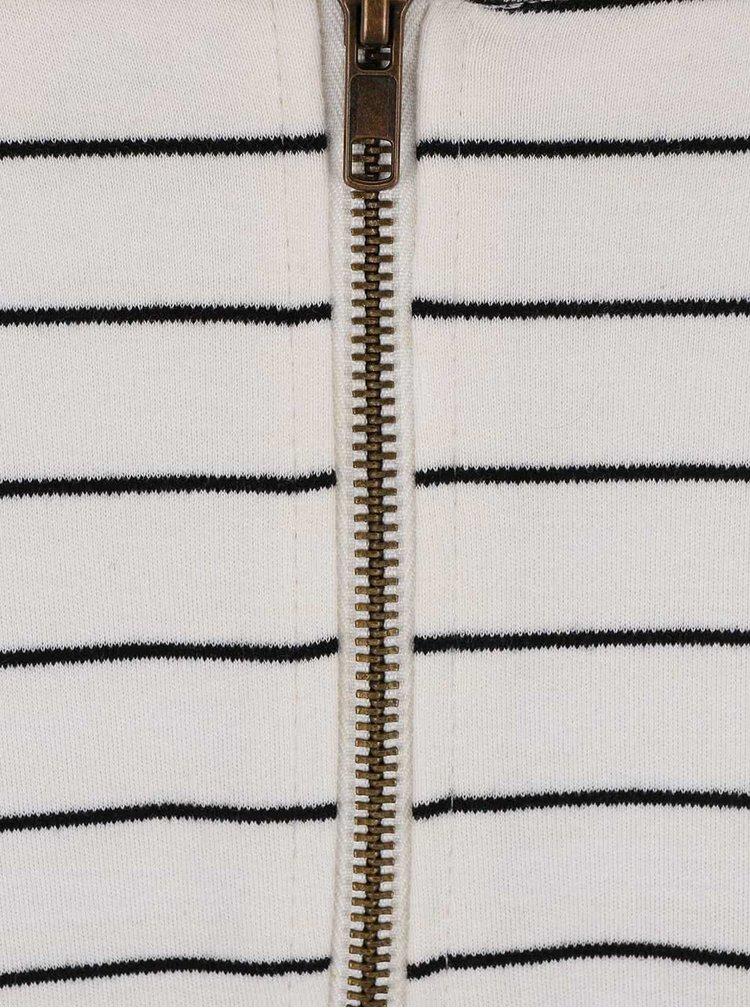 Krémové šaty s pruhmi PEP Baja 1
