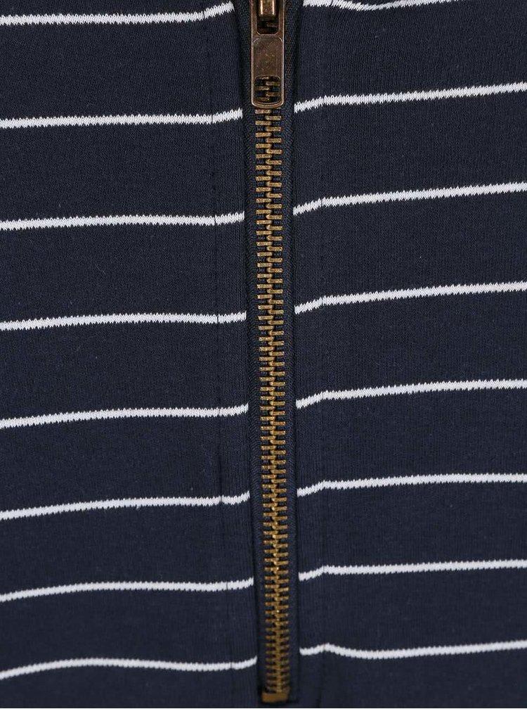 Tmavomodré šaty s pruhmi PEP Baja 1