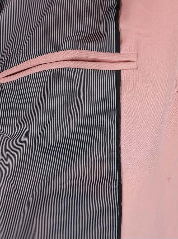 Růžový trenčkot PEP Buggi