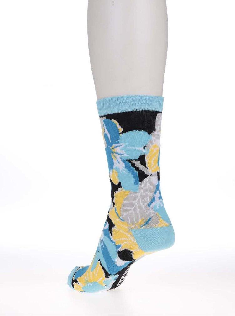 Súprava troch dámskych ponožiek s kvetmi Oddsocks Jess