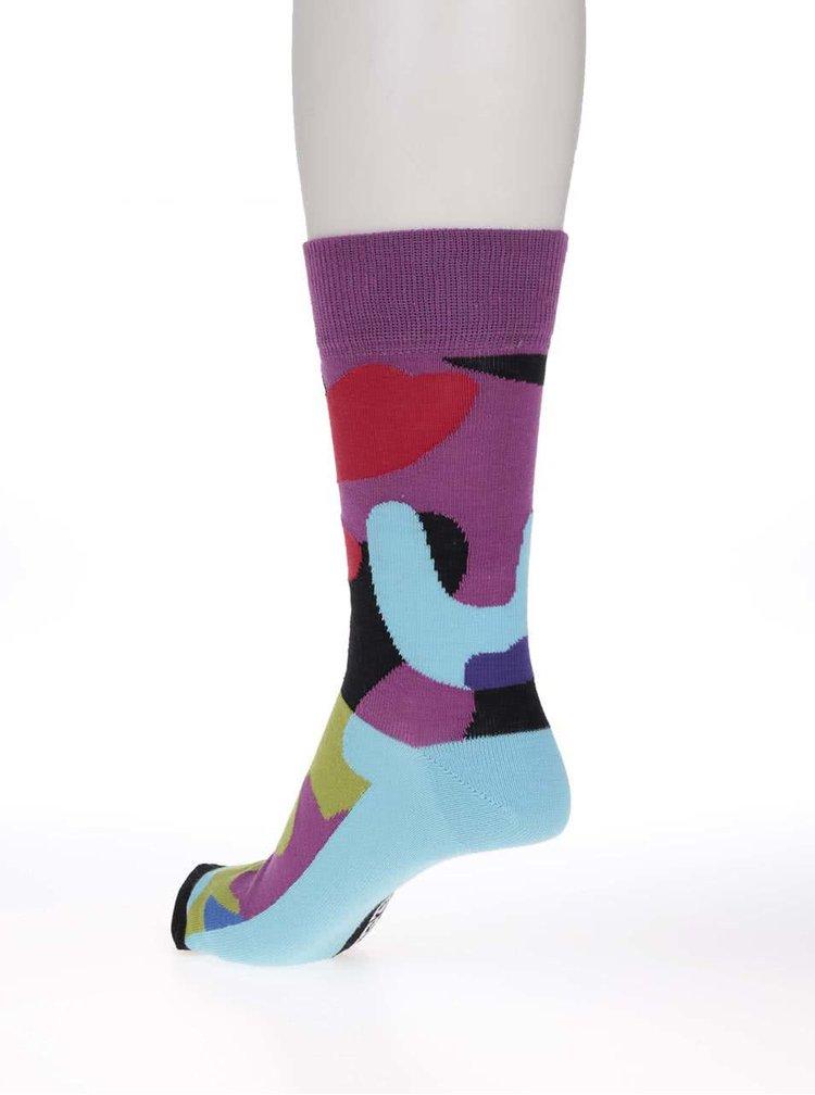 Sada troch pánskych maskačových ponožiek Oddsocks Callum