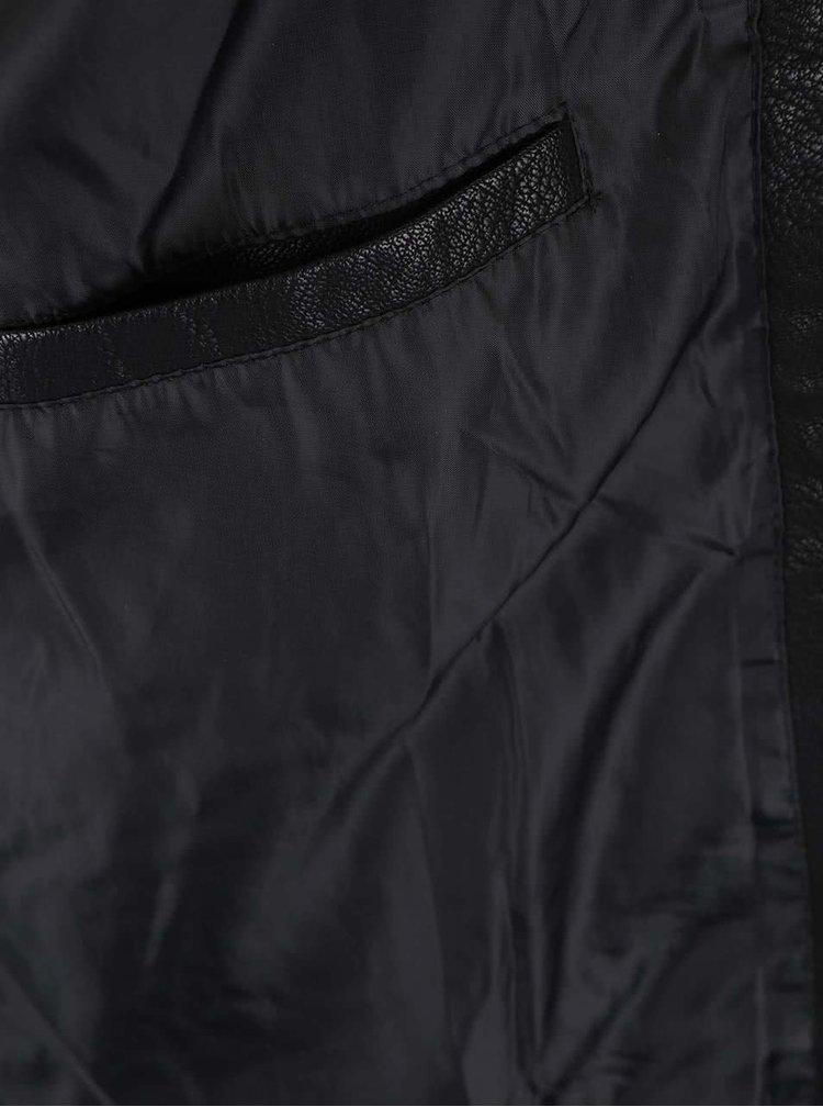 Černá bunda Jack & Jones Tano