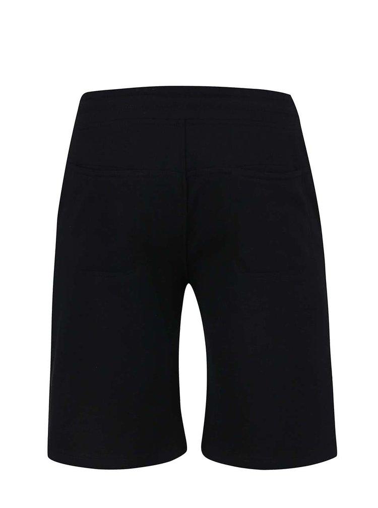 Pantaloni scurti negri sport Jack&Jones