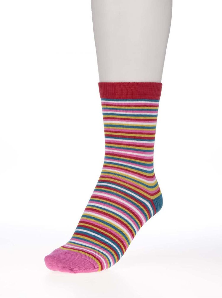 Sada troch dámskych pruhovaných ponožiek Oddsocks Lottie