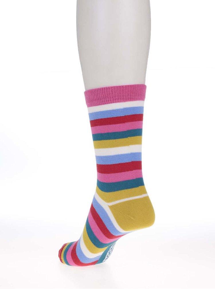 Sada šesti dámských pruhovaných ponožek Oddsocks Stripes