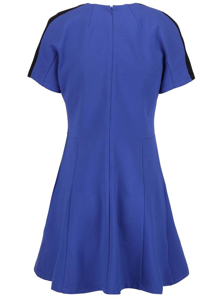 Černo-modré šaty French Connection Lula