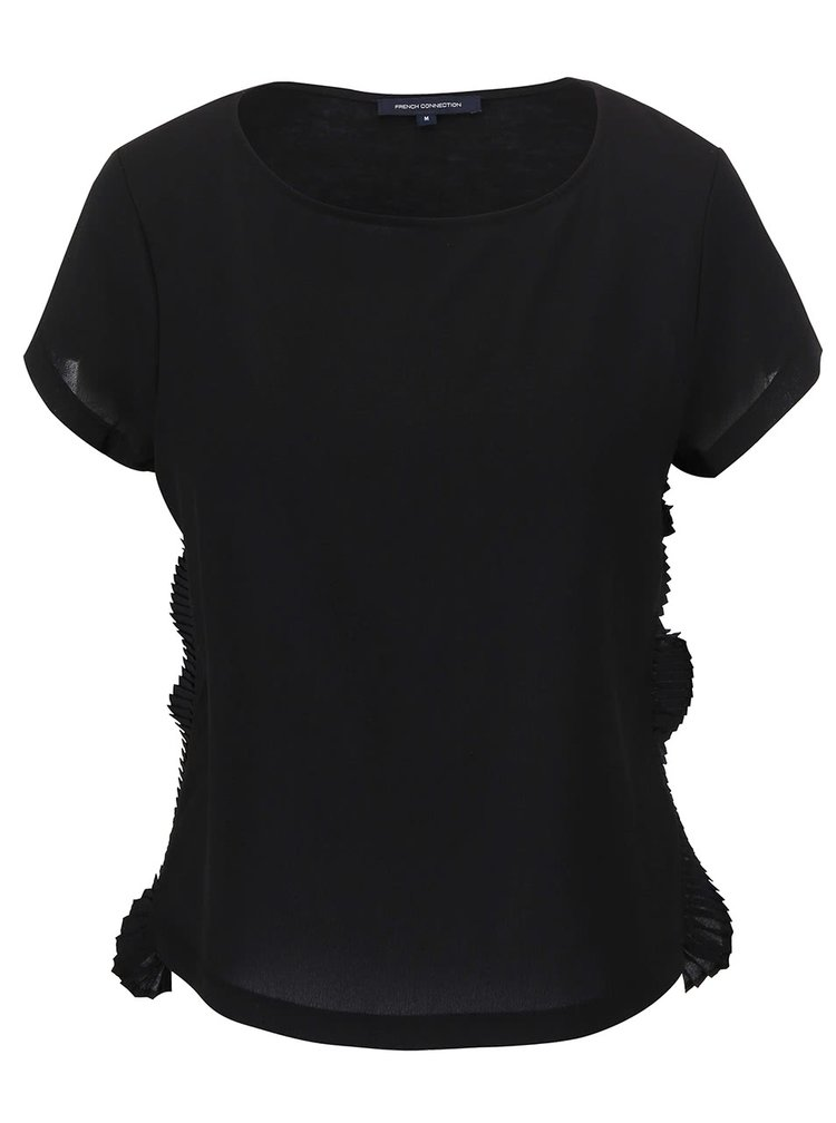 Tricou French Connection Polly negru