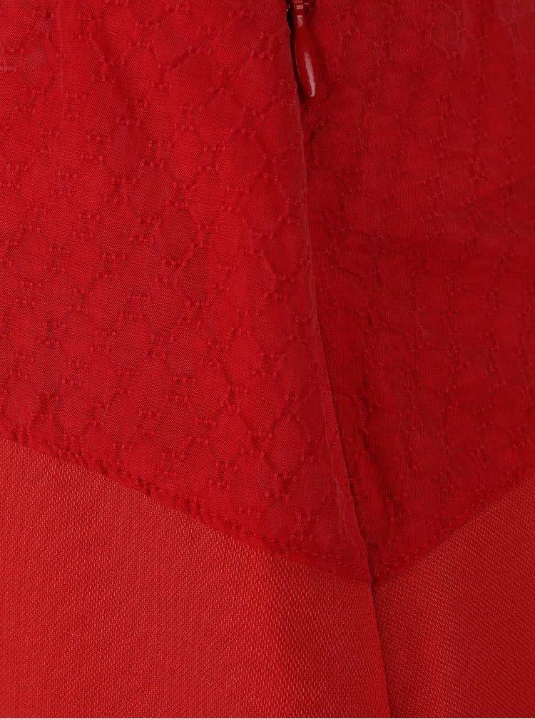 Červená sukňa Skunkfunk Lauder
